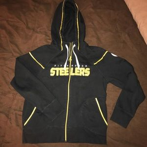 Pittsburgh Steelers Reebok Zip-up Jacket